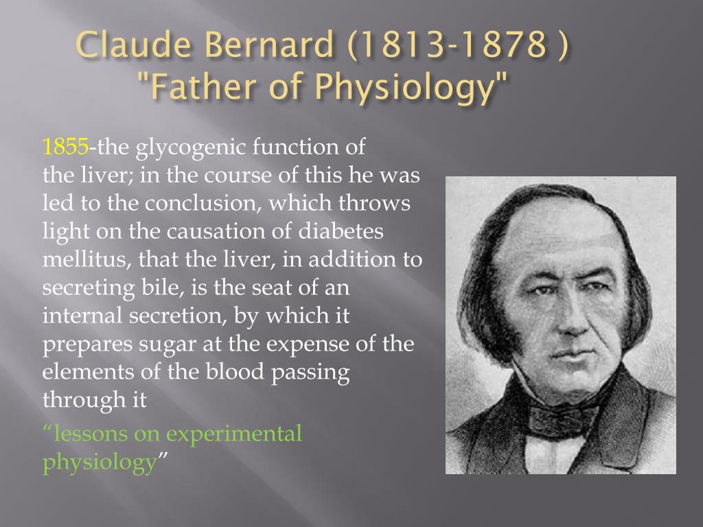 Claude Bernard (1813-1878 )