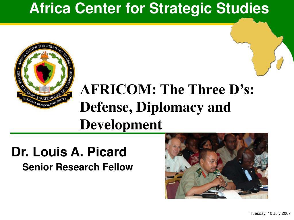 africa center for strategic studies