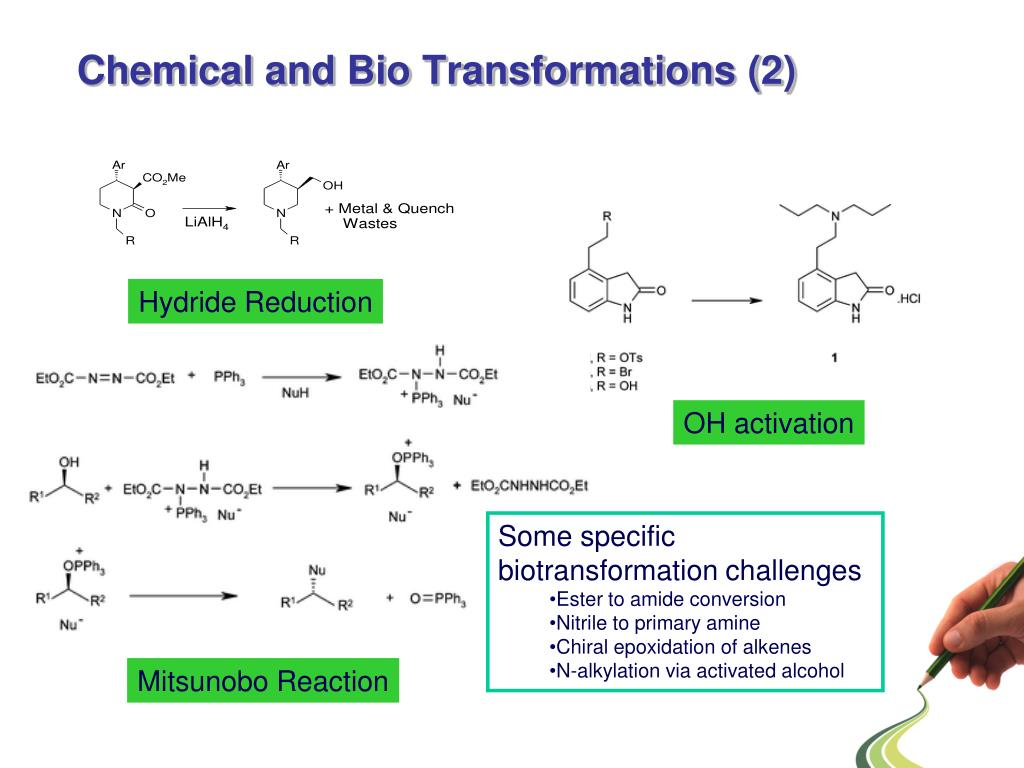 Chemical and Bio Transformations (2)