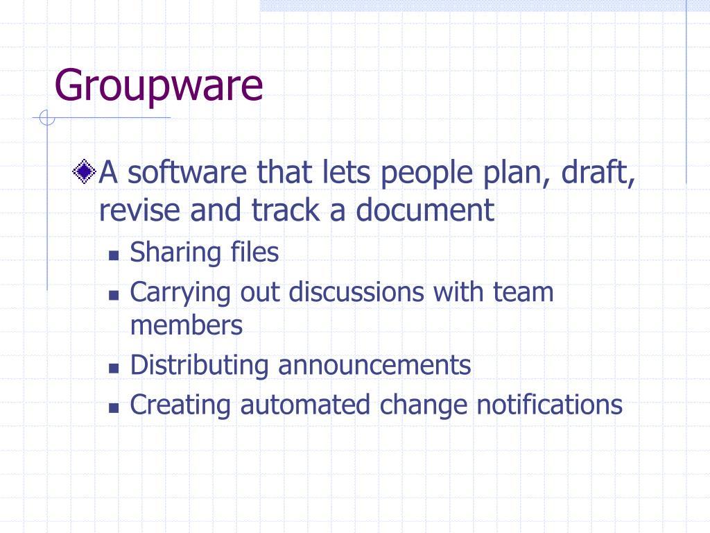 Groupware