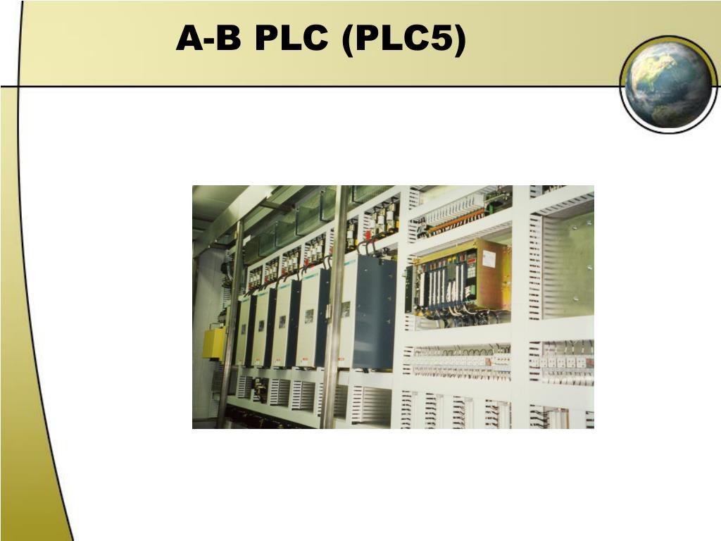 A-B PLC (PLC5)
