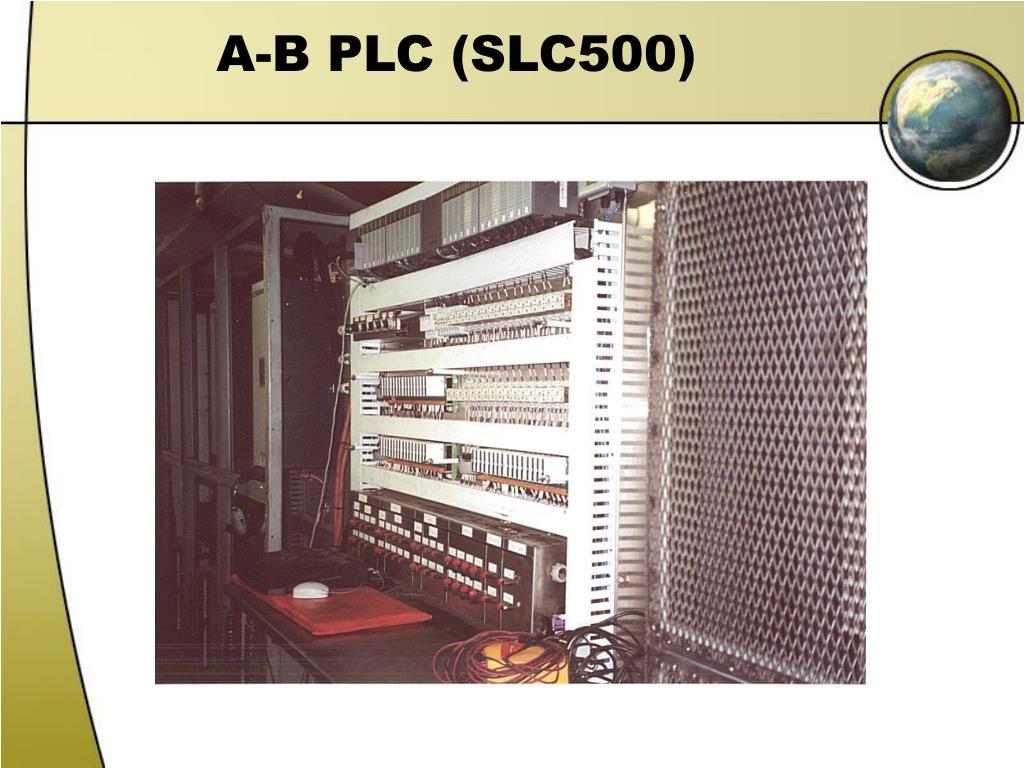 A-B PLC (SLC500)