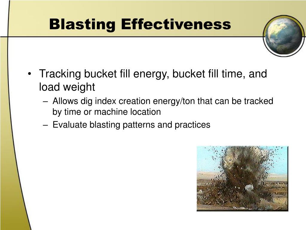 Blasting Effectiveness