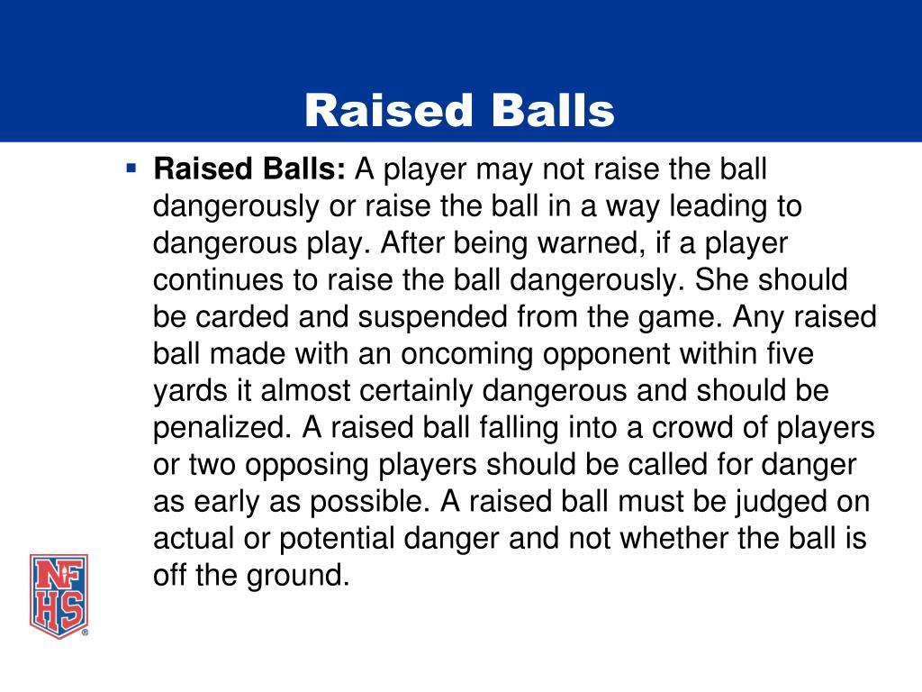 Raised Balls