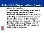 rule 1 5 1 player uniform cont7