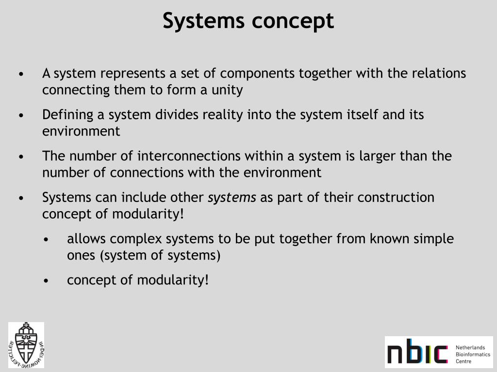 Systems concept