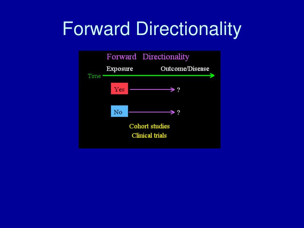 Forward Directionality