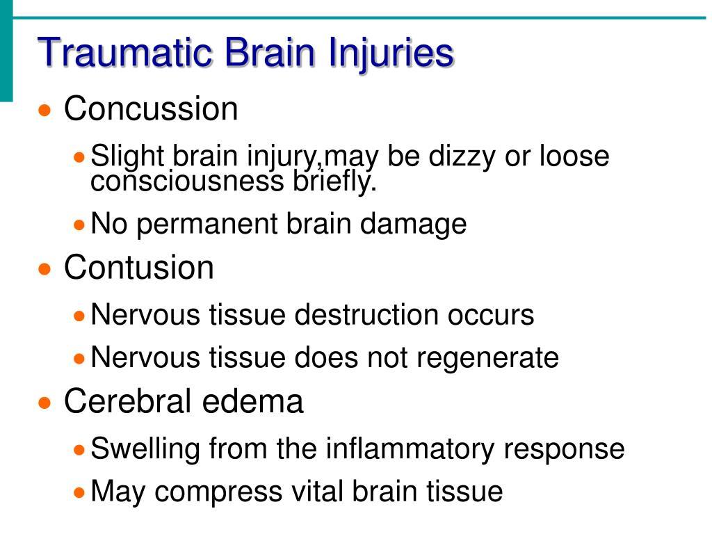Traumatic Brain Injuries