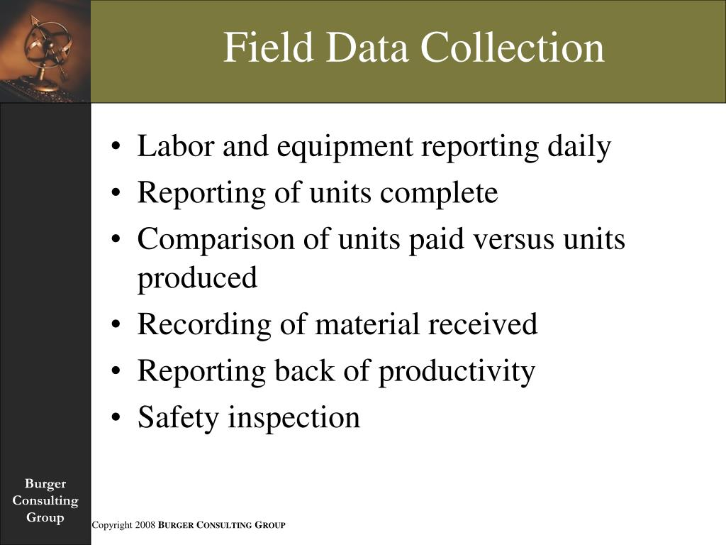 Field Data Collection