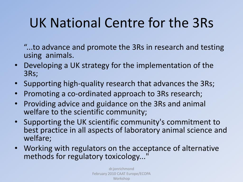 UK National Centre for the 3Rs