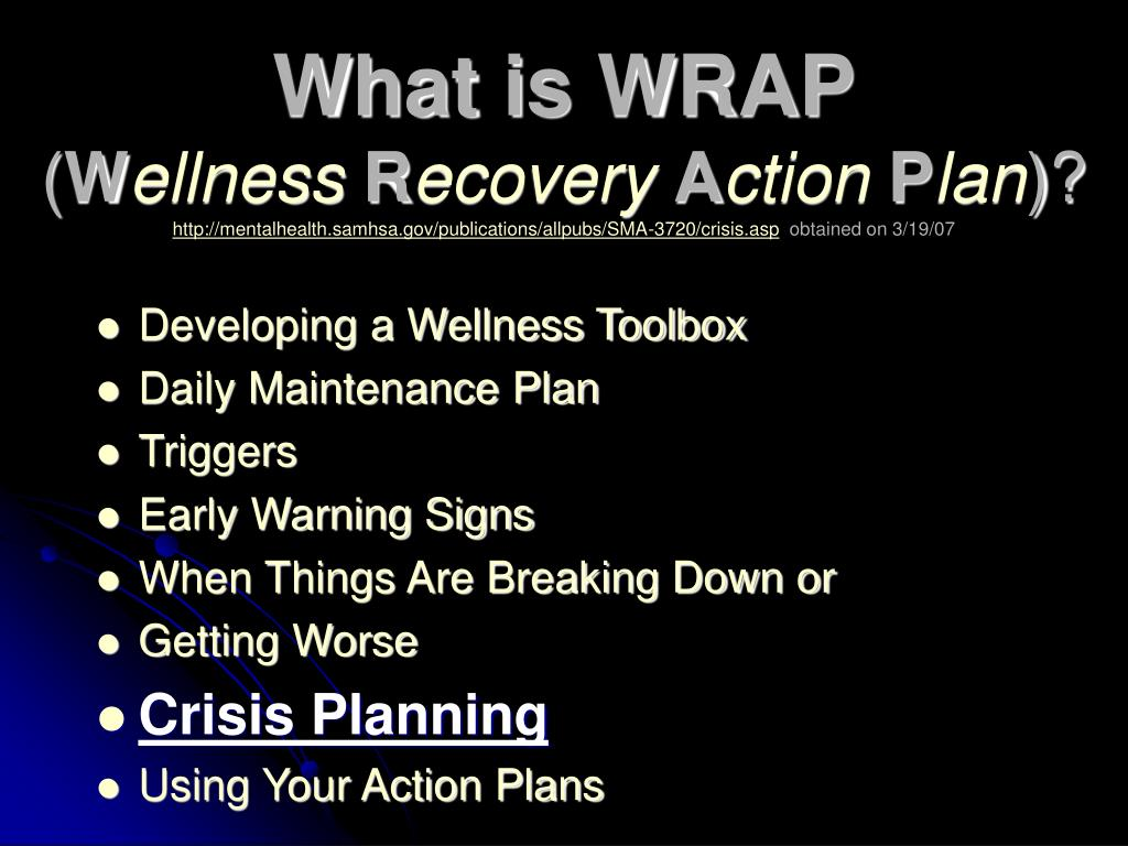 What is WRAP