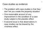 case studies as evidence6