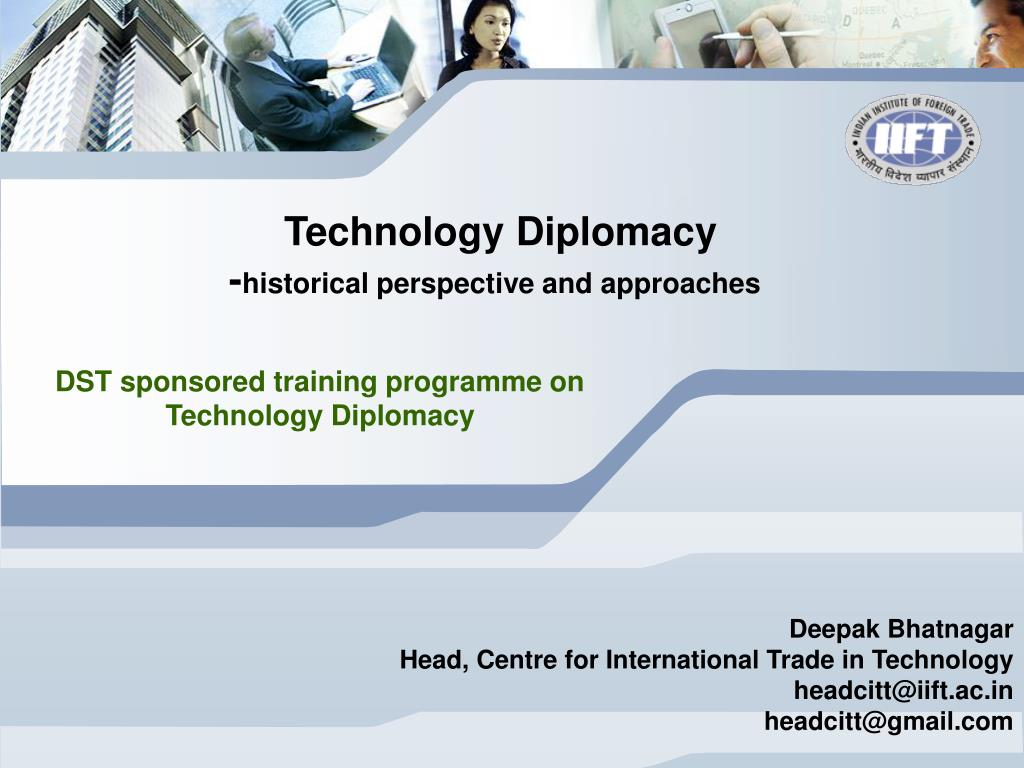 Technology Diplomacy