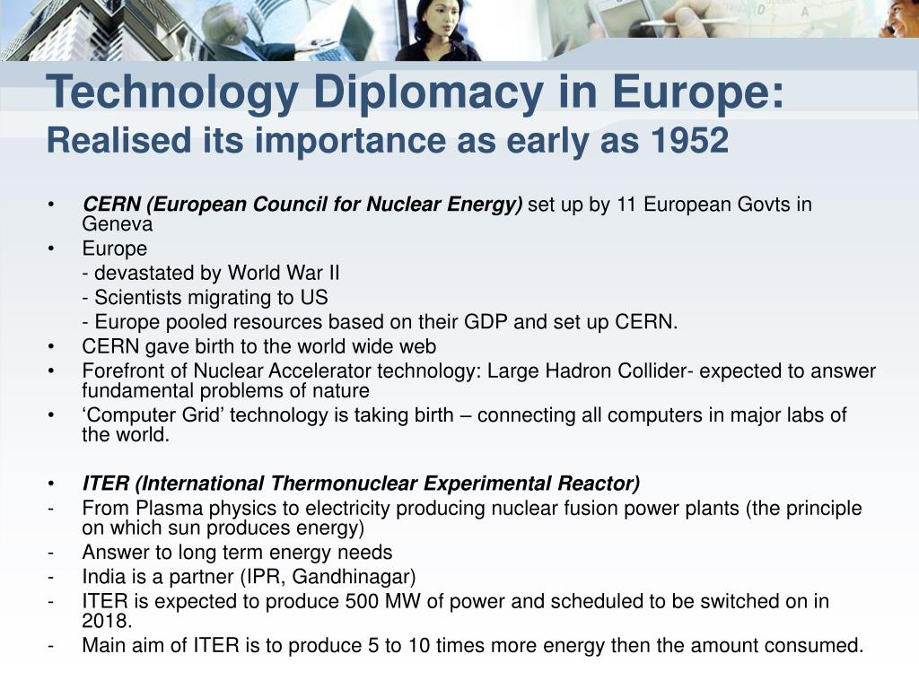 Technology Diplomacy in Europe: