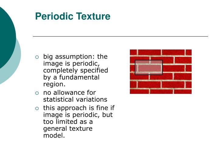 Periodic Texture