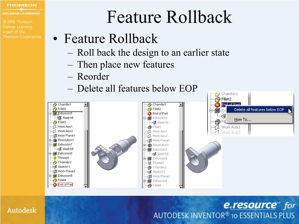 Feature Rollback