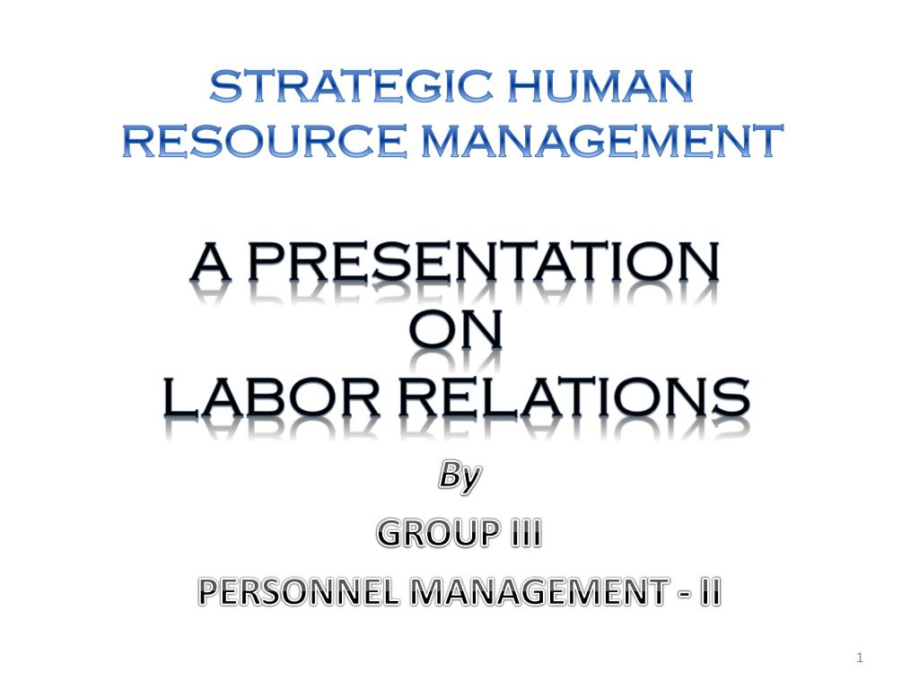 ppt presentation on human resource research