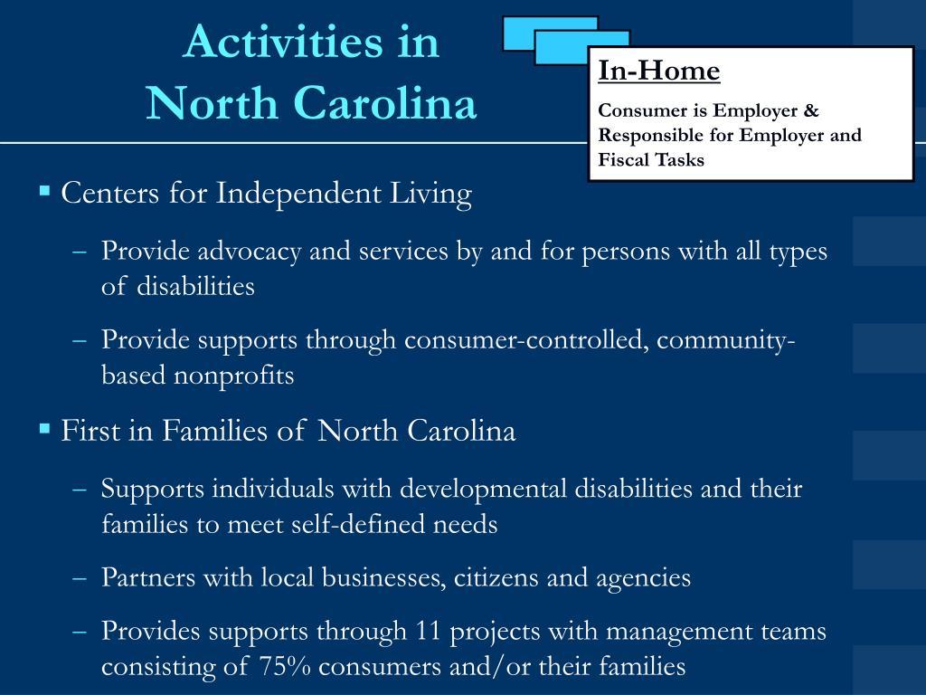 Activities in
