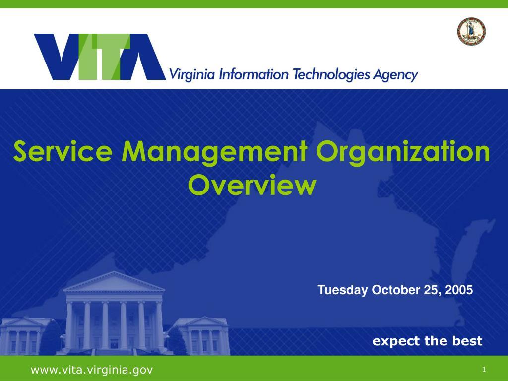 Service Management Organization