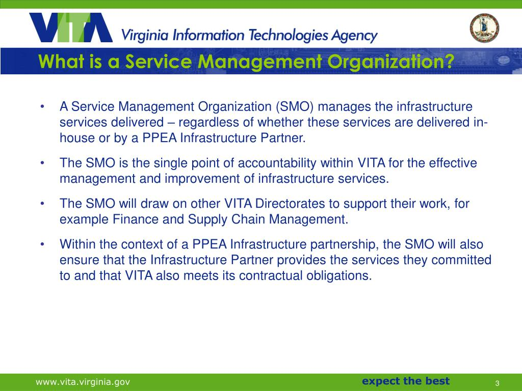 What is a Service Management Organization?
