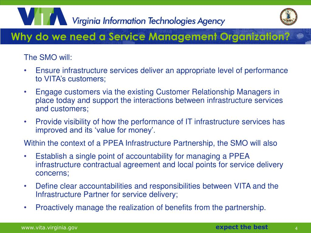 Why do we need a Service Management Organization?
