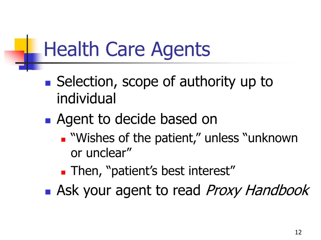 Health Care Agents