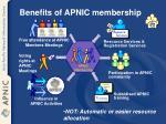 benefits of apnic membership