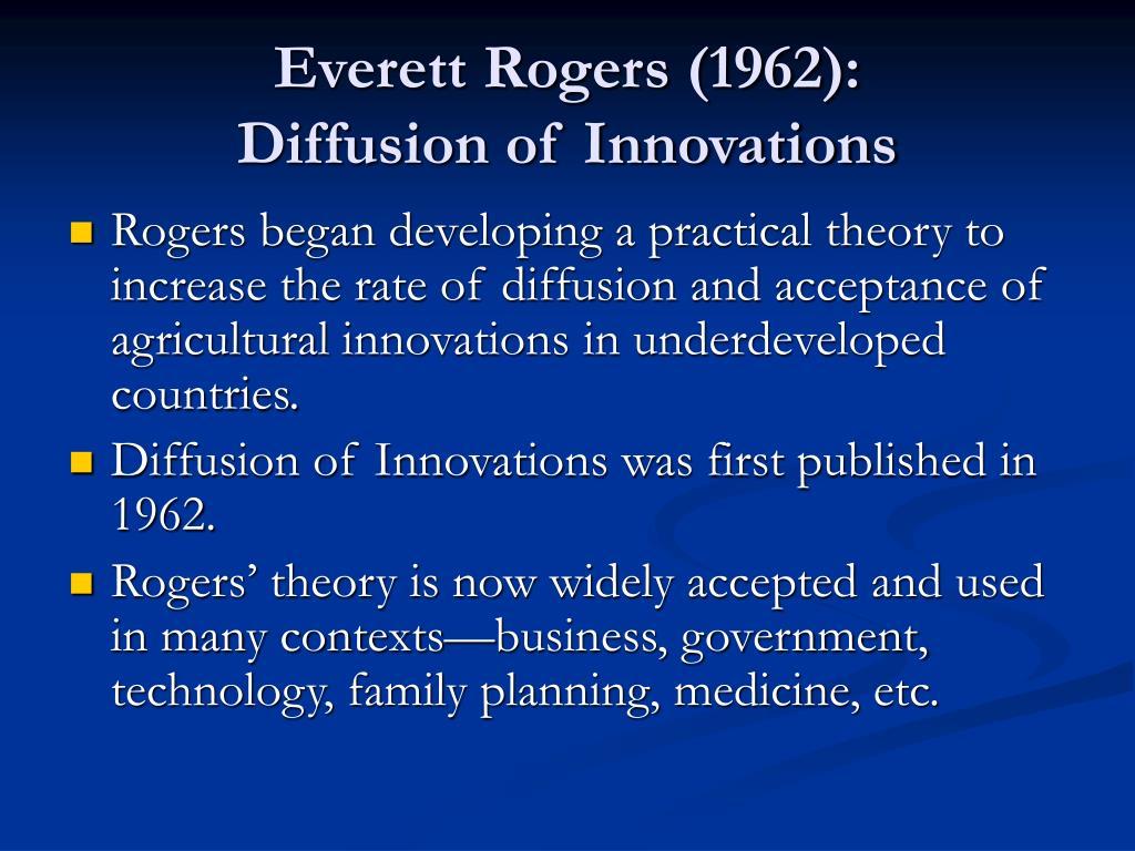 Everett Rogers (1962):