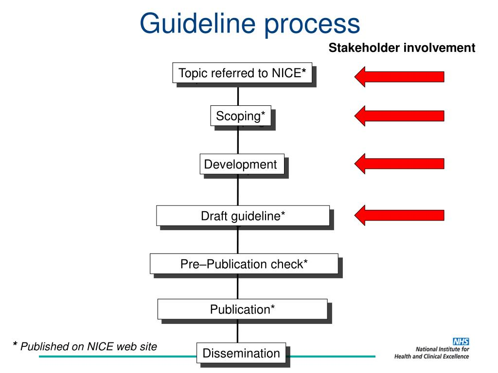 Guideline process