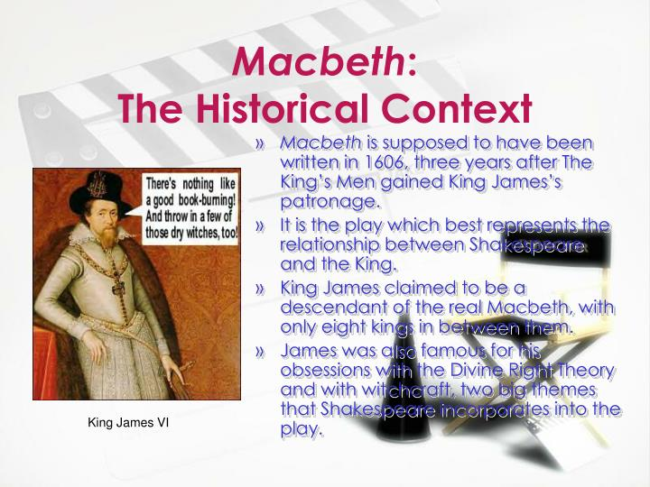 the question of whether macbeth is a representative character in shakespeares macbeth 'macbeth' is a play designed to be performed for and to involve the audience dramatic influence is the way supernatural has effect upon the characters in the play william shakespeare's dramatic use of the supernatural in macbeth be sure to include the.