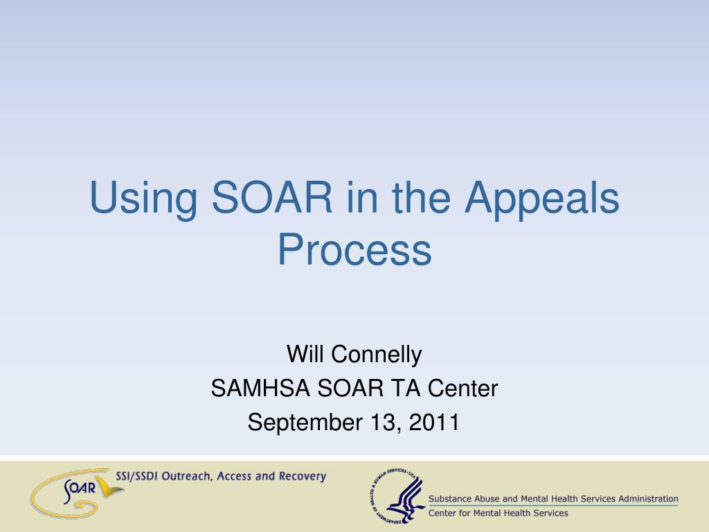 using soar in the appeals process