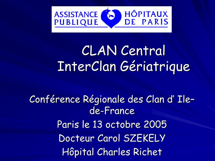 CLAN Central