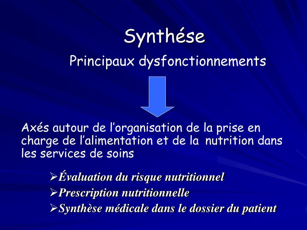 Synthése
