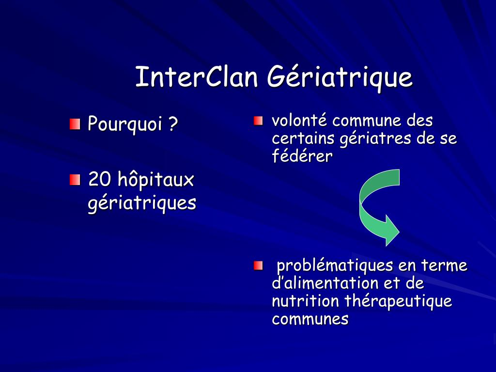 InterClan Gériatrique