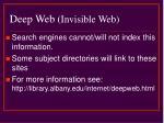deep web invisible web7