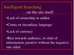 intelligent searching17