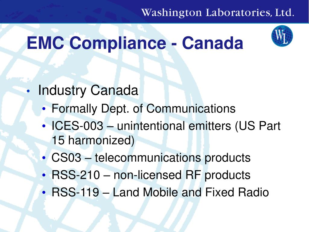 EMC Compliance - Canada