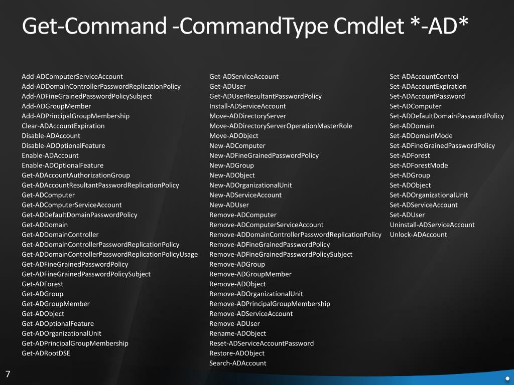 Add-ADComputerServiceAccount