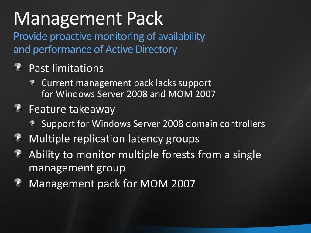 Management Pack