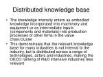 distributed knowledge base14