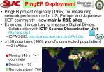 pinger deployment