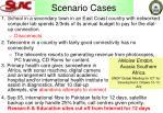 scenario cases