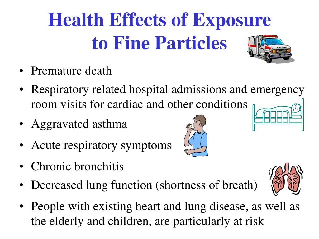Health Effects of Exposure