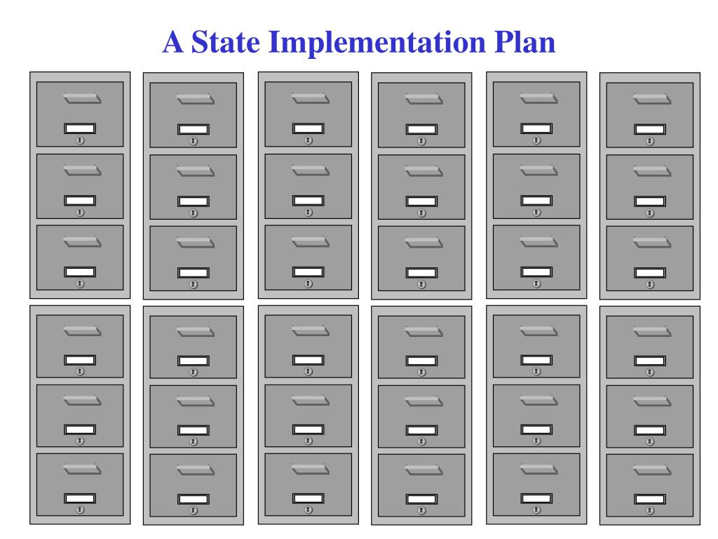 A State Implementation Plan