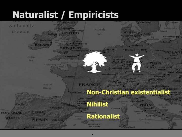 Naturalist empiricists