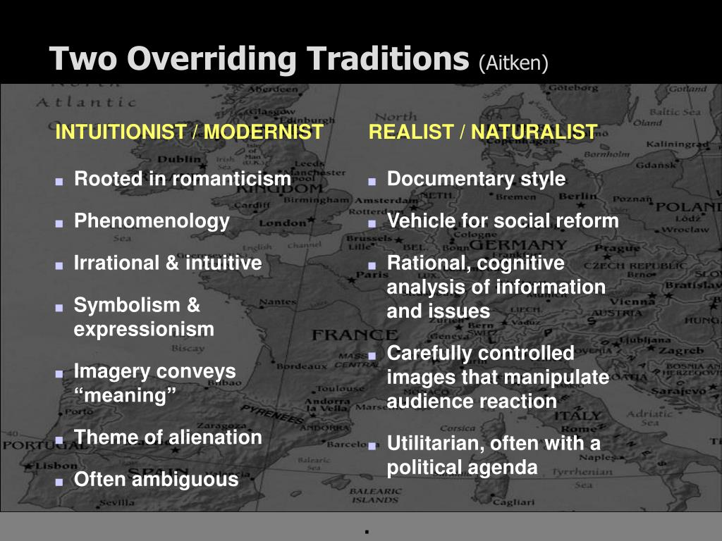 Two Overriding Traditions