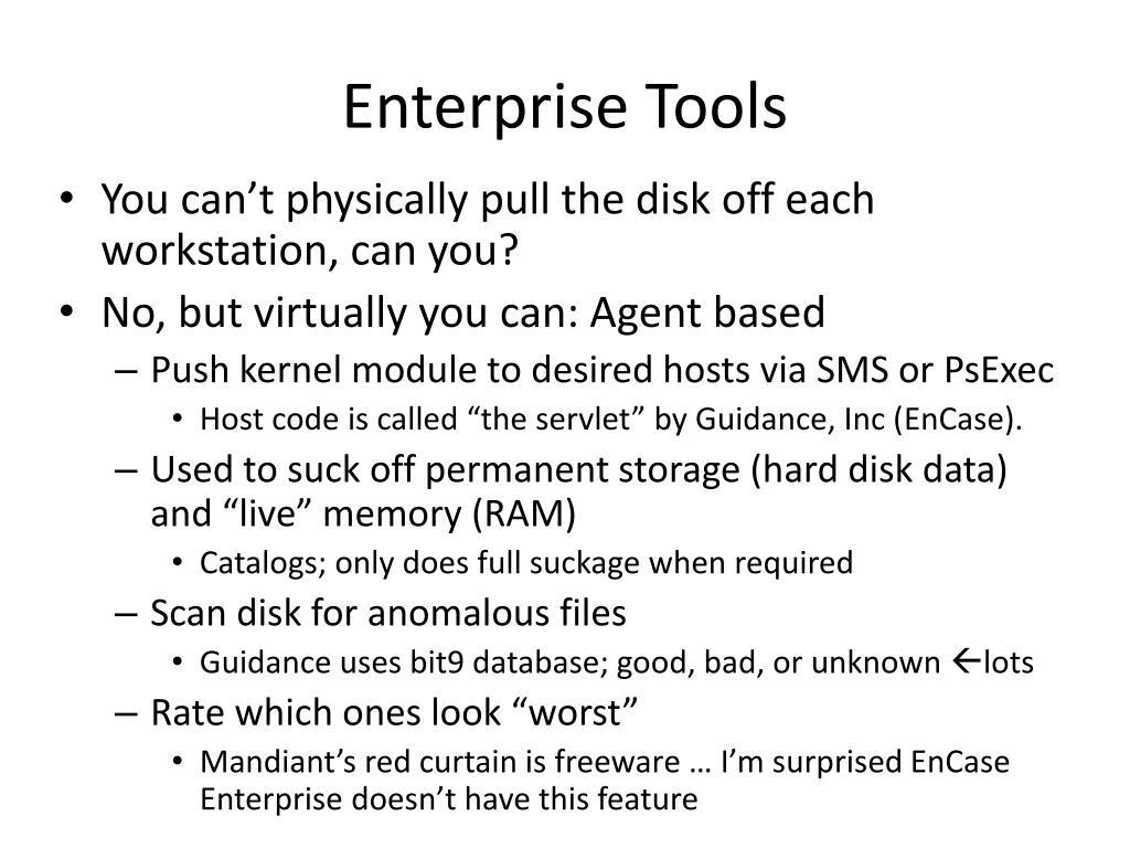 Enterprise Tools