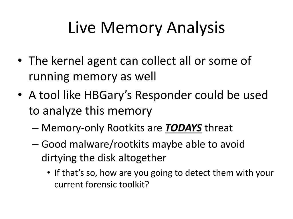 Live Memory Analysis