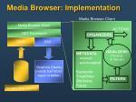 media browser implementation