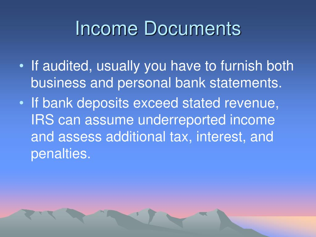 Income Documents